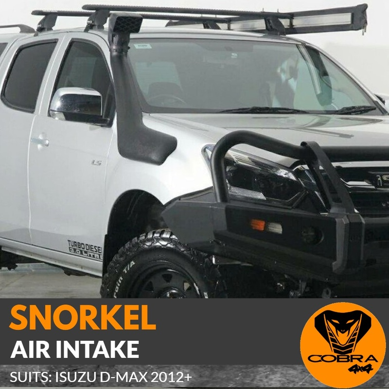 ISUZU D-MAX Snorkel Air Intake Kit Fits 2012 2013 2014 2015 - 2019 Models Dmax