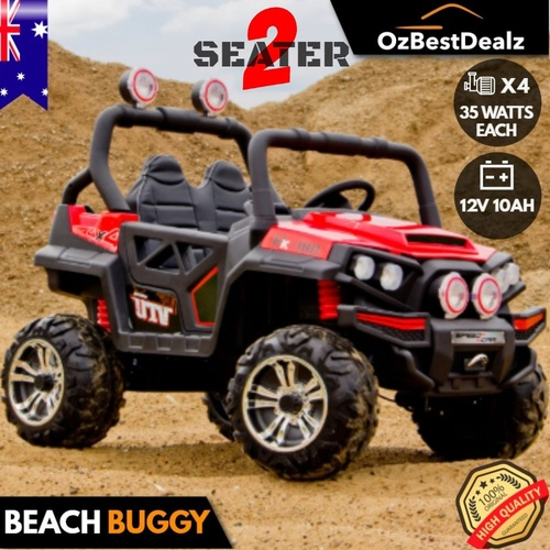 4X4 KIDS RIDE ON CAR 2 SEATER BEACH BUGGY (X4 MOTORS)