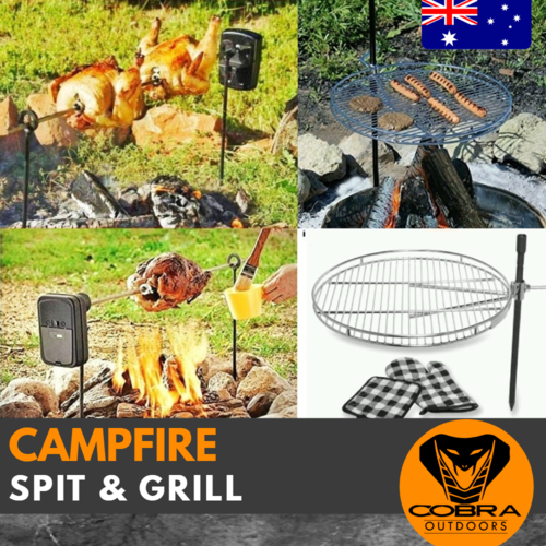 Spit Grill and Campfire grill package