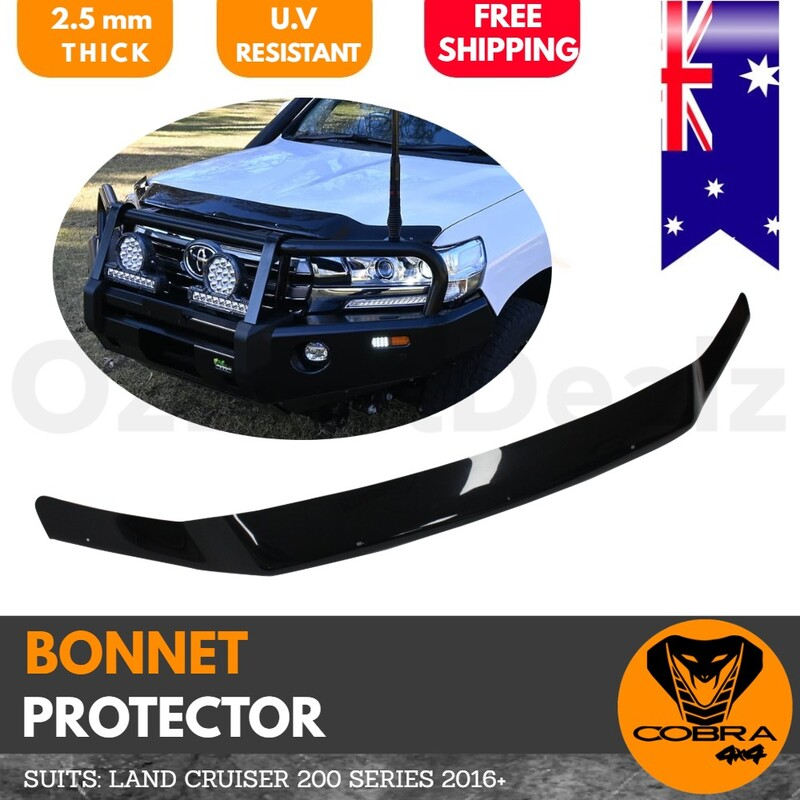 Bonnet Protector suitable for Toyota Landcruiser 200 Series 2016+ onwards