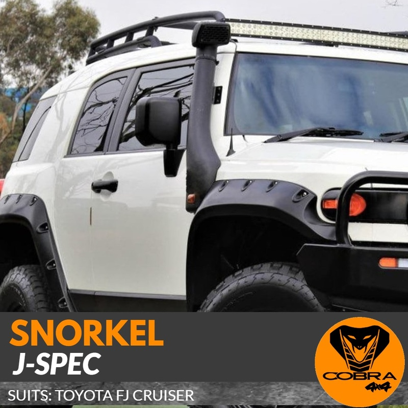 J-SPEC Snorkel suitable for Toyota FJ Cruiser 2006-2017 Air Intake Kit 4WD
