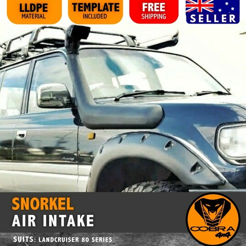 Snorkel Kit suitable for Toyota Land cruiser 80 Series 1990 1991 1992 1993 1994 1995 1996 1997 1998