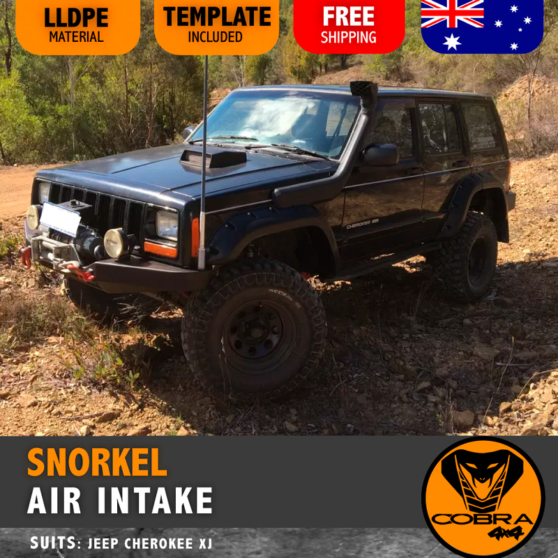 Jeep Cherokee XJ SNORKEL AIR INTAKE KIT 1995 1996 1997 1998 1999 2000 2001